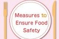 確保食品安全之檢測 Measures to Ensure Food Safety